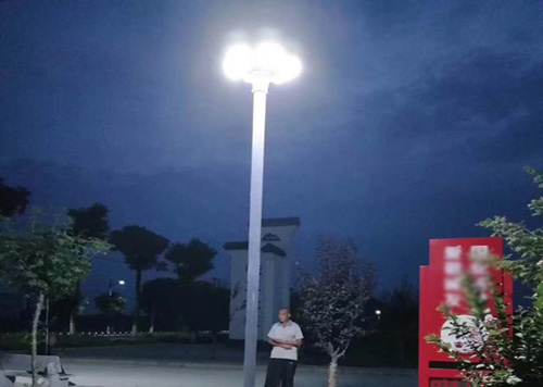 luz LED solar UFO hitechled